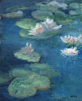 Water Lily Dance - Sold
