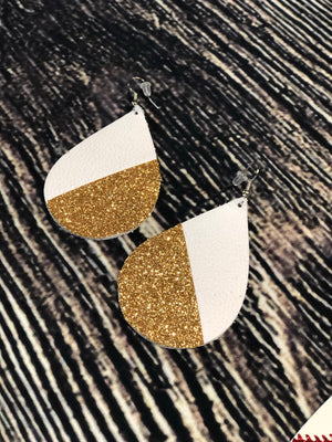 Teardrops Glitter Earrings