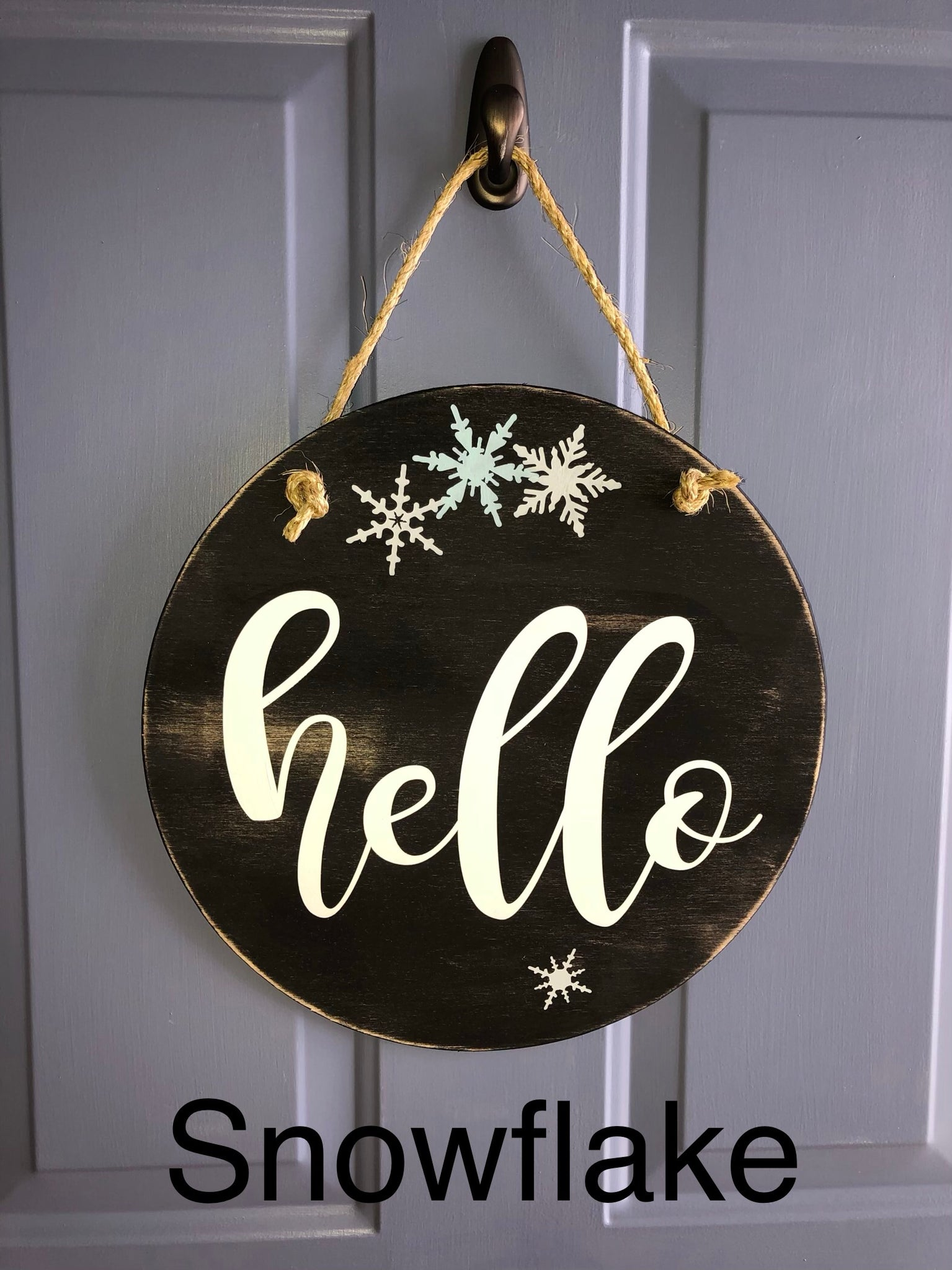 Hello Door Sign