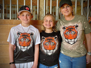 Distress Tiger T's