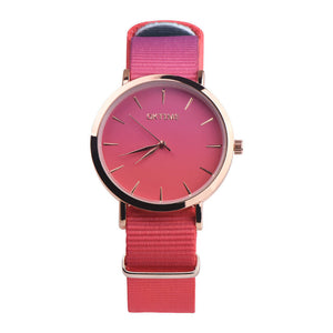 Women Fashion Analog Quartz Round Wrist Watch