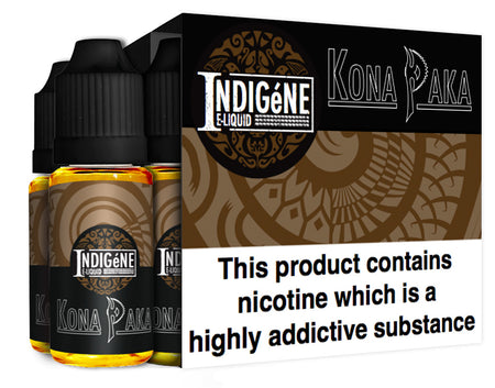 Kona Paka by Indigéne Eliquid - 60ml Multipack