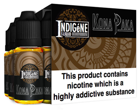 Kona Paka by Indigéne Eliquid - 90ml Multipack