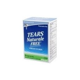 Tears Naturale Free Lubricant Eye Drops Single Use Vials 36 Each