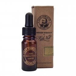 Captain Fawcett Ricki Hall's Booze & Baccy Beard Oil 10ml