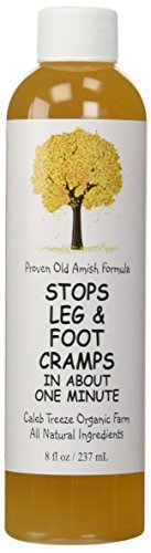 Caleb Treeze Organic Farm Stops Leg and Foot Camps - 8 oz (Pack of 3) by Caleb Treeze Organic Farms