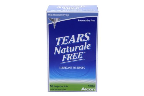 Tears Naturale Tears Naturale Free Lubricant Eye Drops Single Use Vials, 60 X 0.03OZ
