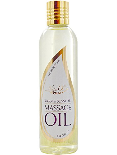 NaturOli Warm and Sensual Massage Oil -100% Natural Blend. - Unisex Body Oil - Safe for Intimacy. - Made in USA!