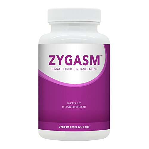 Zygasm - Best Female Libido Booster - All-Natural Enhancement Supplement For Women (90 Caps) by SNC Labs