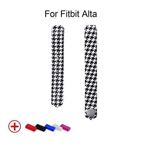Replacement Wrist Bands for Fitbit Alta, Accessories for Fitness Tracker - Houndstooth Pattern