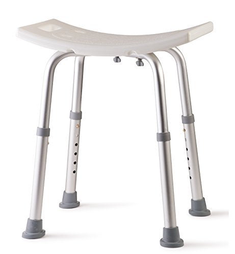Dr Kay's Adjustable Height Bath and Shower Seat Top Rated Shower Bench by Dr Kay's
