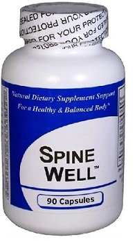 "Spine-Well (90 Capsules) - Concentrated Herbal Blend - CONTAINS NO ""Beef Bovine Gelatin Capsules"" or Magnesium Stearate*"