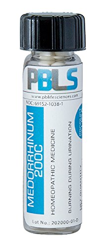 Medorrhinum 200C, 96 Pellets, Homeopathic Product by Paramesh Banerji Life Sciences, Made in USA
