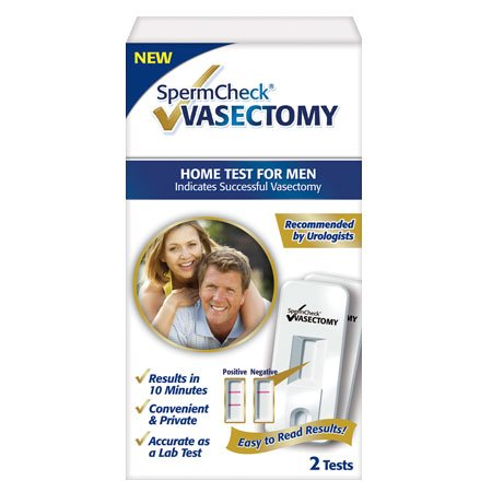 SpermCheck® VASECTOMY 2 Test Kit
