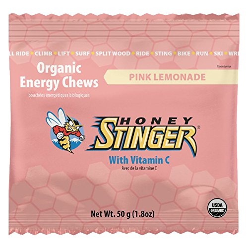 Honey Stinger Organic Energy Chews Cherry Cola 1.8 oz Bags (Pack of 12)