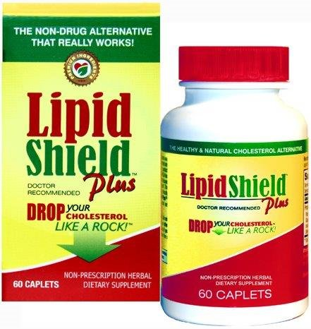 LipidShield Plus Lower cholesterol naturally with Dr. formulated LipidShield. Lower LDL and Triglycerides with LipidShield ingredients of Red Yeast Rice, Policosanol, Guggul, Niacin and Selenium. Niacin is known to raise the good cholesterol, HDL.60 ct.
