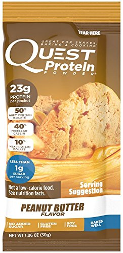 Quest Nutrition Quest Protein pxkPoB Powder, Peanut Butter 24 Count