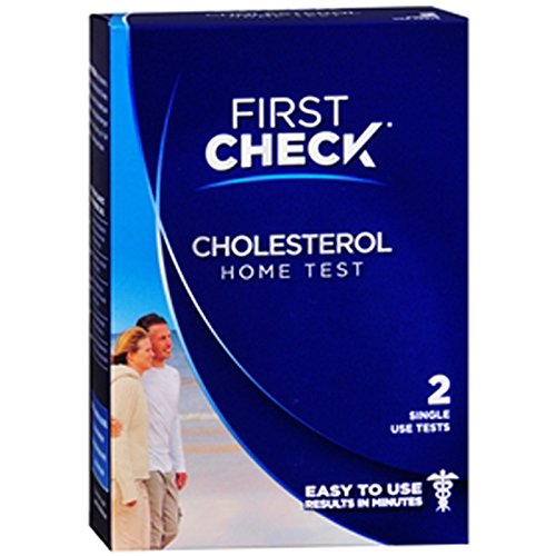 First Check Home Cholesterol Test, Two Single Use Tests