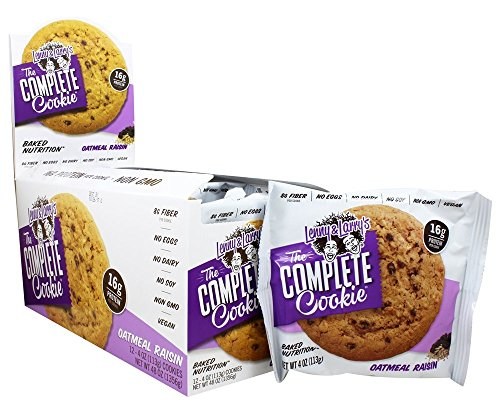 Lenny & Larry'S All-Natural Complete Cookie Oat Raisin 12/