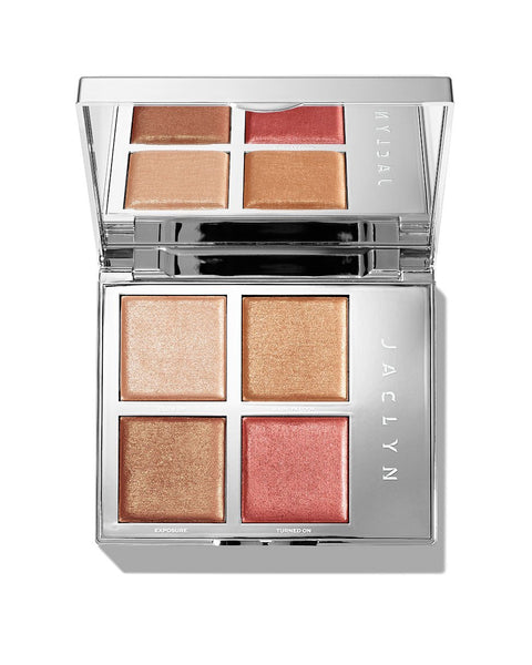 Jaclyn Cosmetics ACCENT LIGHT HIGHLIGHTER PALETTE in The Flare