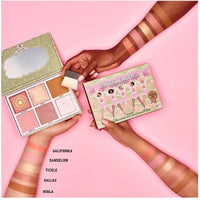 BENEFIT COSMETICS The Cheekleaders PINK SQUAD  Cheek Palette