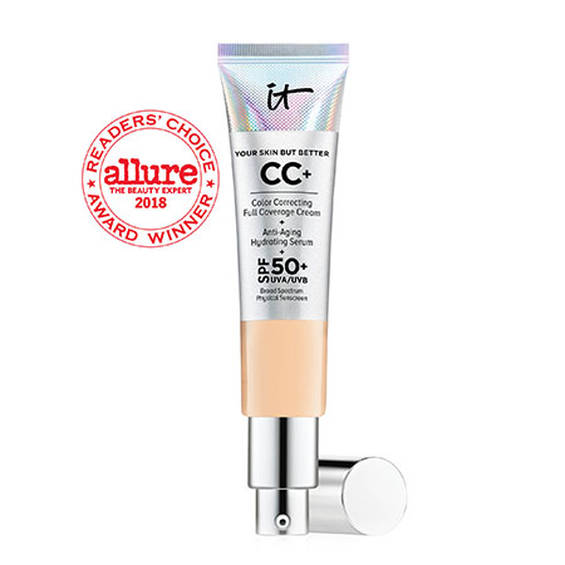 IT COSMETICS  Your Skin But Better CC Cream with SPF 50+ in LIGHT MEDIUM