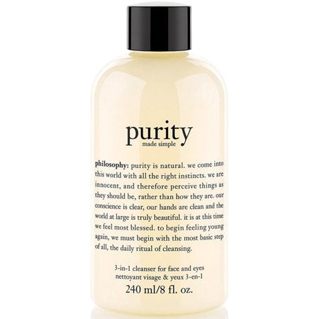 PHILOSOPHY Purity Made Simple Cleanser 8 oz