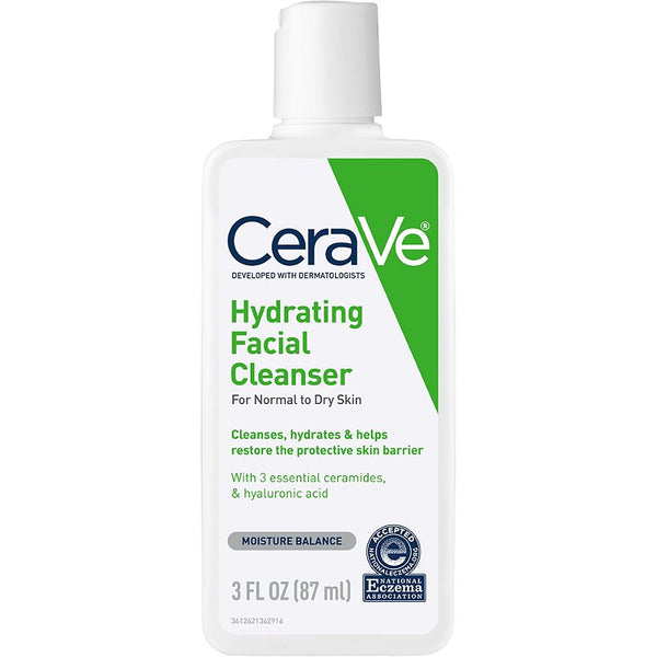 CeraVe  Travel Size Hydrating Facial Cleanser 3 oz