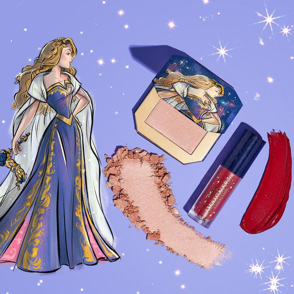 Colourpop x Disney Aurora: Once upon a dream kit