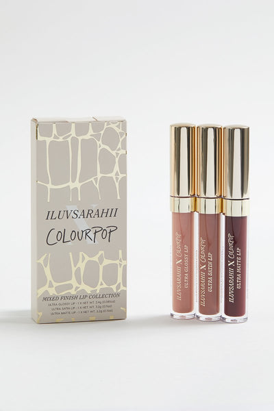 COLOURPOP X  ILUVSARAHII LIP BUNDLE