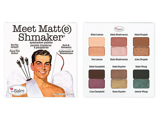 The Balm Cosmetics Meet Matt(e) Shmaker