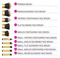 BH Cosmetics Sculpt and Blend - 10 Piece Brush Set