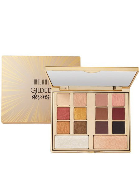 MILANI Cosmetics GILDED DESIRES EYE & FACE PALETTE