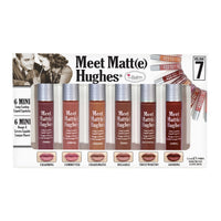 The Balm Cosmetics MEET MATTE HUGHES® VOL. 7 lipstick set