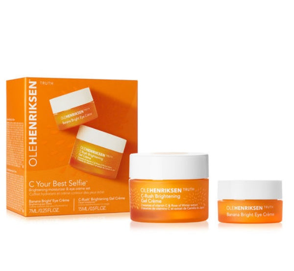 OLEHENRIKSEN C Your Best Selfie Brightening Moisturizer & Eye Crème Set