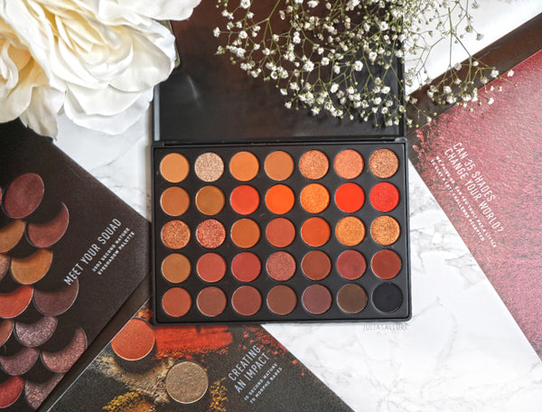 Morphe 35O2 SECOND NATURE EYESHADOW PALETTE