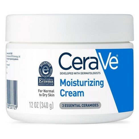 CeraVe Moisturizing Cream for Normal to Dry Skin -12oz