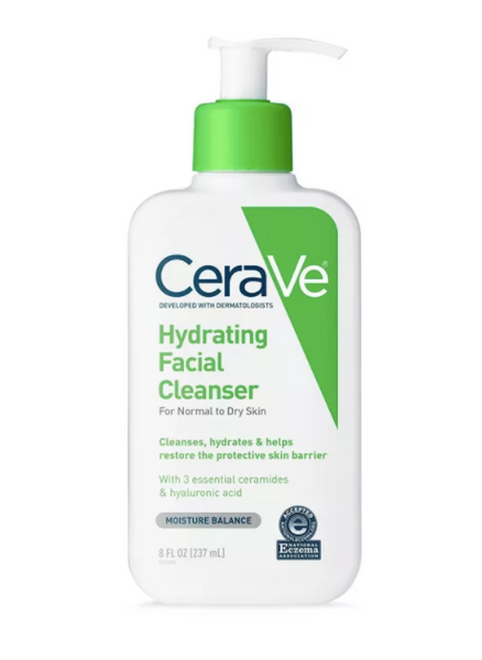 CeraVe Hydrating Facial Cleanser For Normal To Dry Skin - 8 fl oz