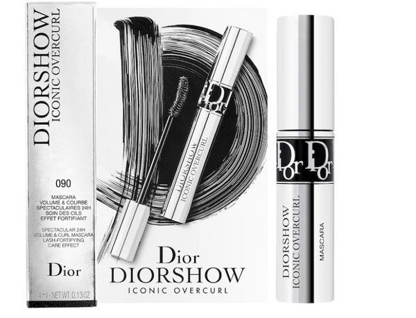Dior Iconic Overcurl Mascara mini size- 4mL