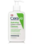 CeraVe  Hydrating Cream-to-Foam Cleanser 8 oz