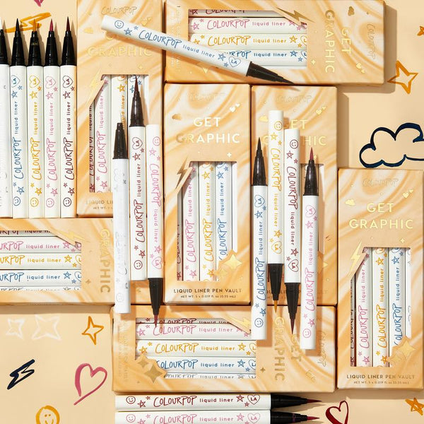 Colourpop get graphic liquid liner pen vault