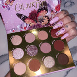 Colourpop Flutter By shadow palette