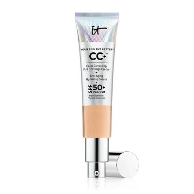 IT COSMETICS  Your Skin But Better CC Cream with SPF 50+ in MEDIUM - TAN