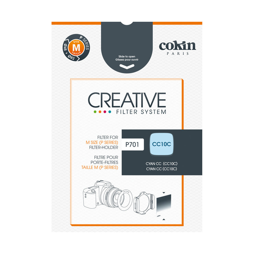 84mm x 84mm P705 P Cokin Square Cyan CC30C Color Correction for M Series Holder