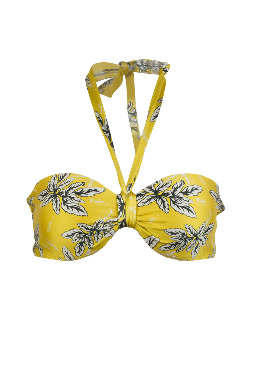 Bianca bikini top in Spring with strap
