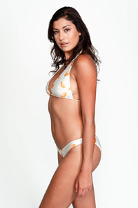 Side of Camila bikini top in Ginko Ivory