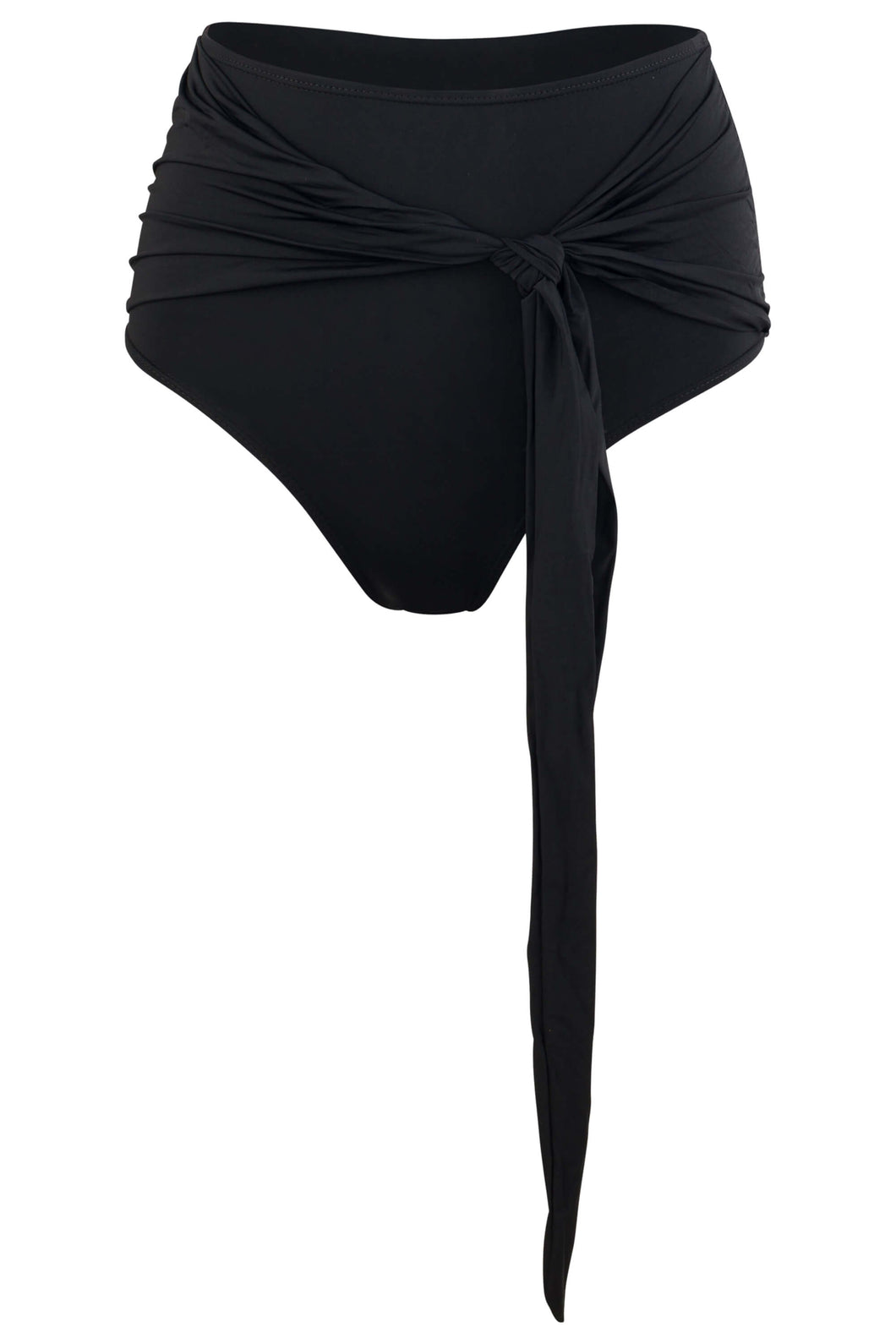 Giovanna high waisted swimsuit bottom in Black