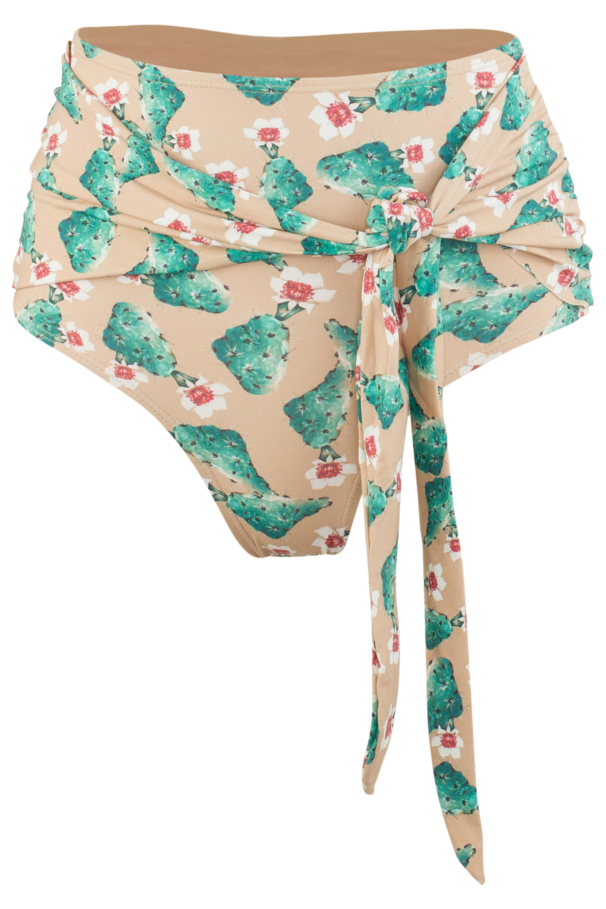 Giovanna high waist swimsuit bottom in Cactus