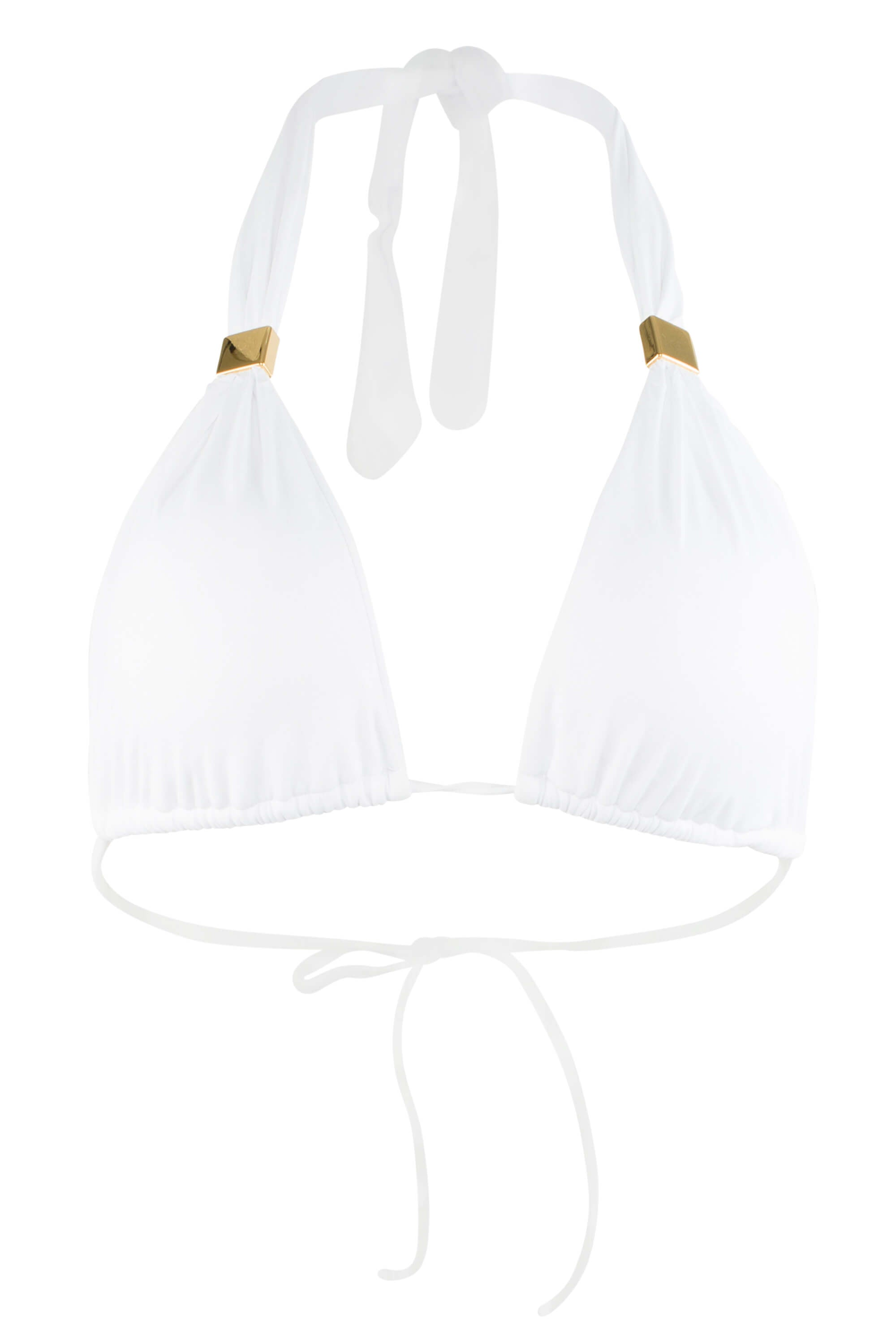 Nina white bathing suit top.