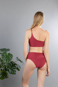 Back of Serena Bottom in Terracotta